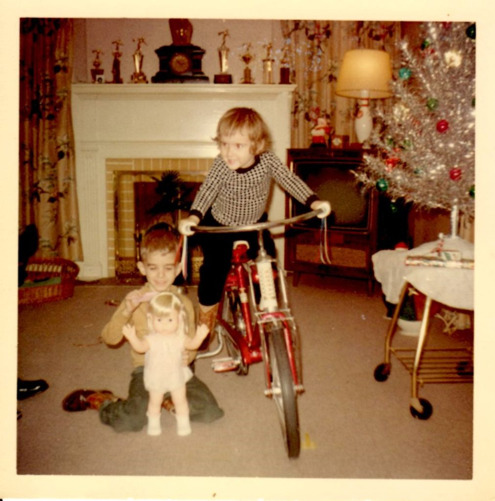 jim-and-jane-bike-and-baby-first-step